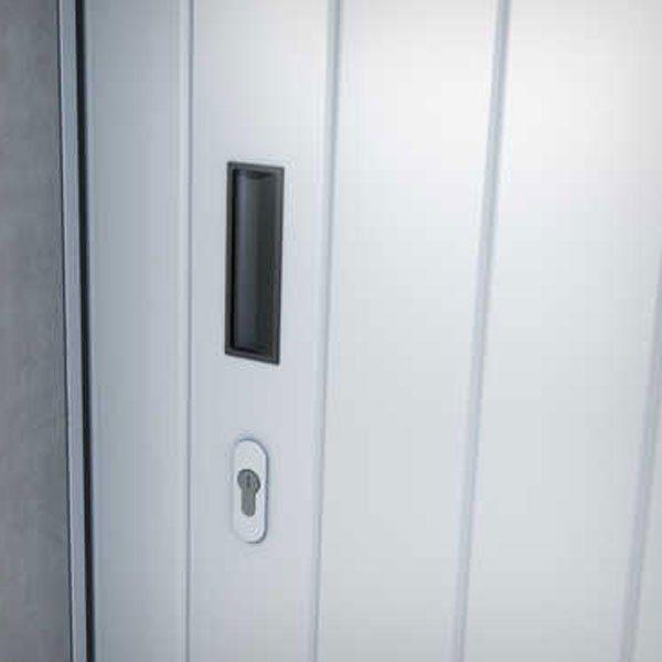 porte-garage-sectionnelle-portillon-poignee